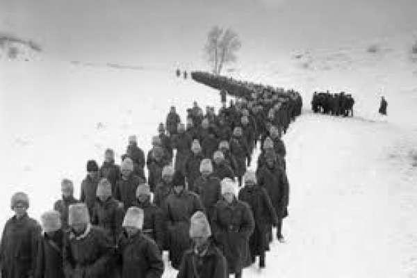 Prisioneros de guerra del la Urss