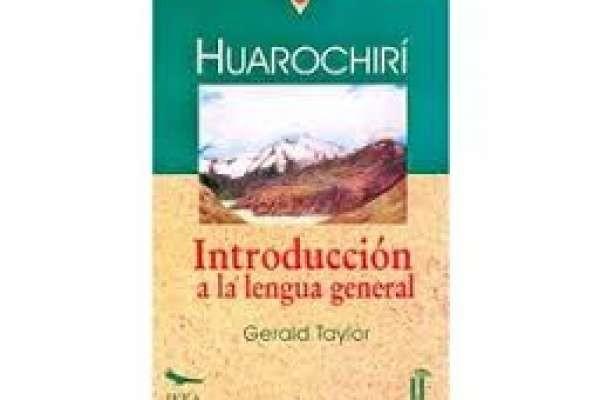Taylor, Gerald  - Introducción a la Lengua general Quechua