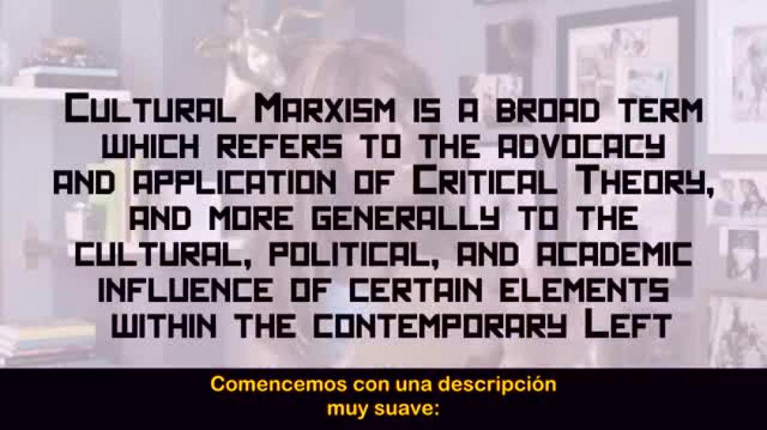 Sociedad actual y el marxismo cultural