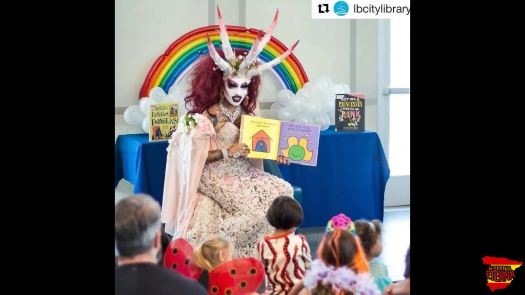 El terrible adoctrinamiento Drag Queen a niños en América