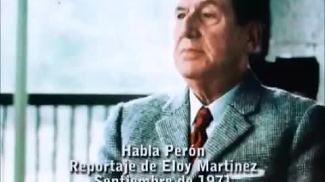 Entrevista del General Perón sobre los masones y la historia Argentina.
