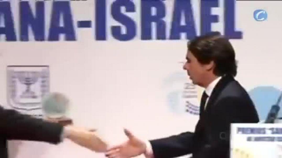 Aznar  Si cae Israel caemos todos   Por Siempre Israel..mp4