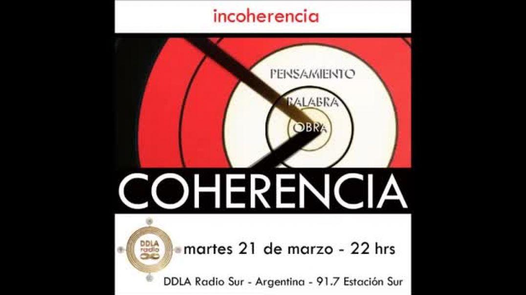 DDLA Radio Sur 4 x 3 - Incoherencia/Coherencia