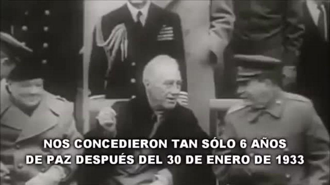 Último discurso de Adolf Hitler 30 de Enero 1945
