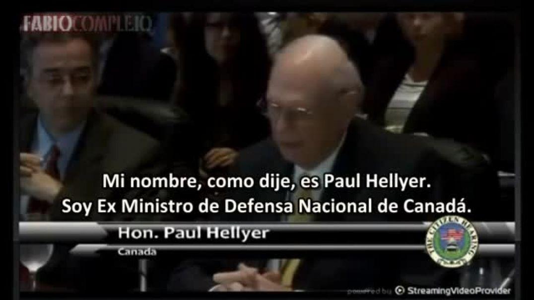 Paul Hellyer - Ex ministro de Canadá