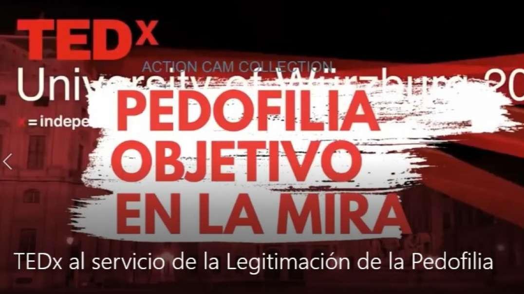 TEDx al servicio de la Legitimación de la Pedofilia