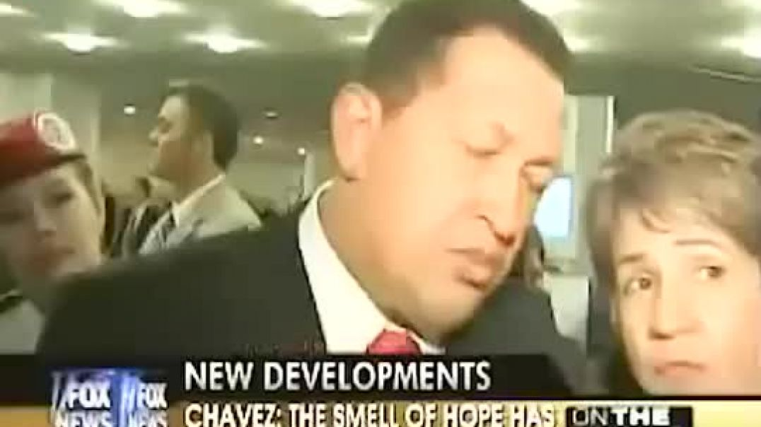 Hugo Chavez les dice  estupidos a fox news