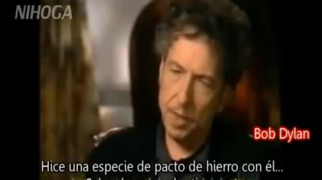 Bob Dylan acepta haber hecho un pacto con el diablo.