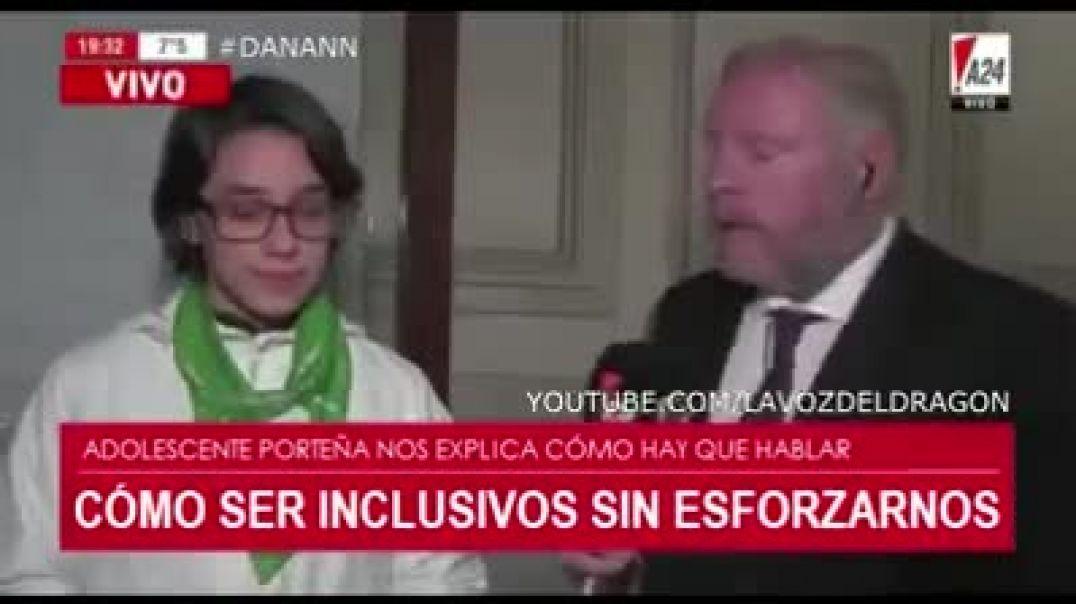 "Entrevista "" inclusiva"""