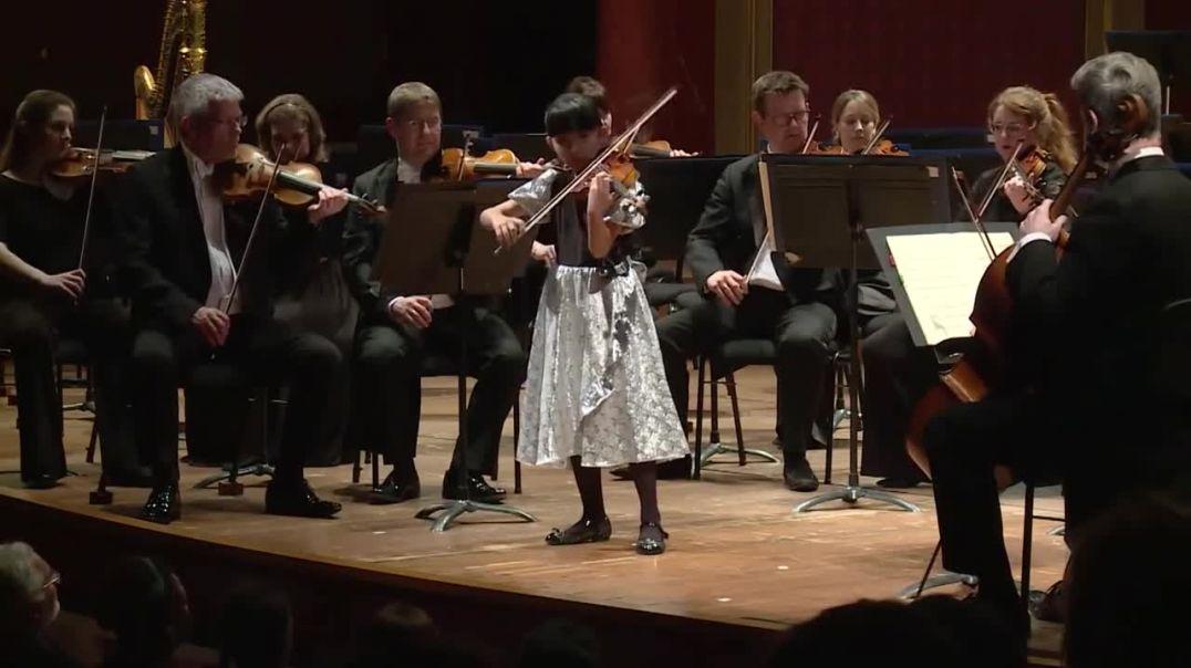 La NIÑA de 11 años Chole Chua Ganadora del prestigioso concurso Yehudi Menuhin.  ( HD ).mp4