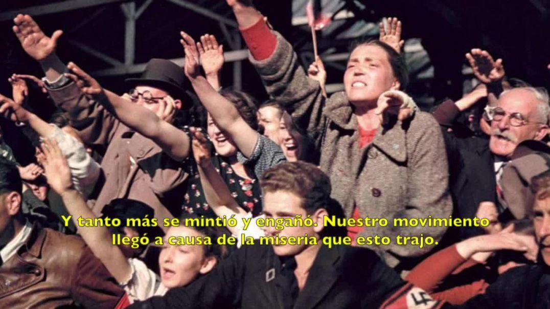 Adolf Hitler desmonta las mentiras inglesas 8 -11-1939 (COMPLETO)