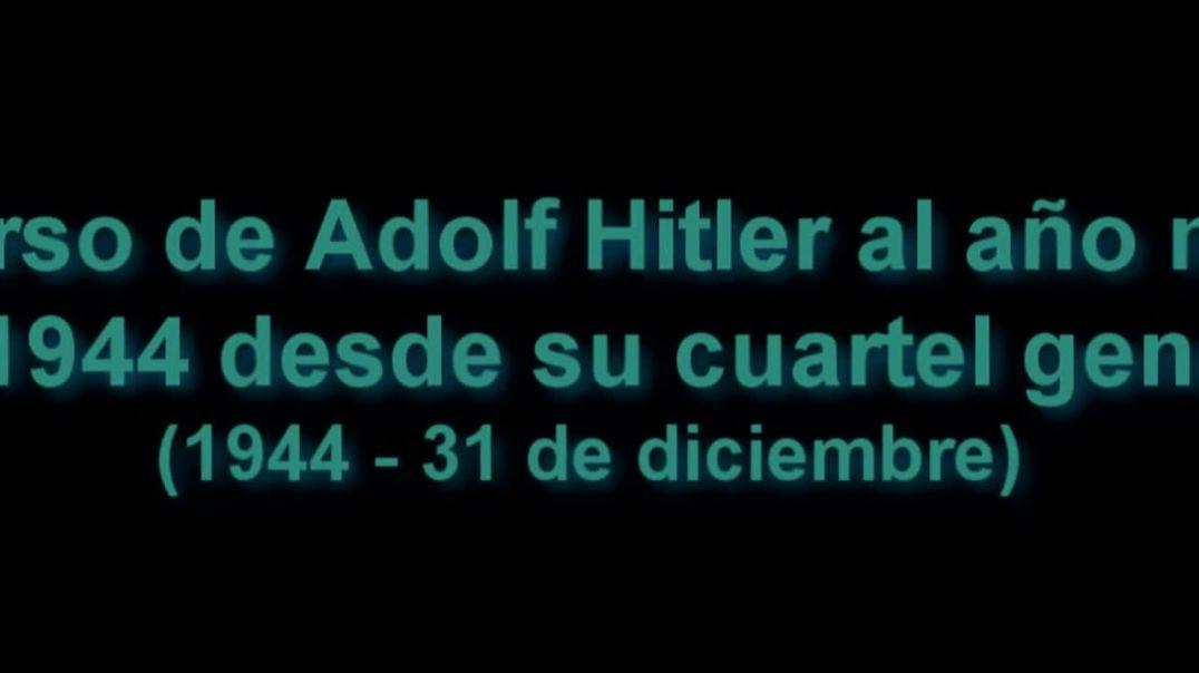 Discurso de Adolf Hitler 1944