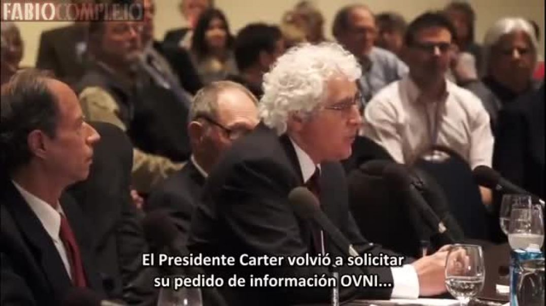 Conexión Jesuita, Congreso americano y Extraterrestres
