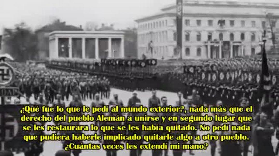 Adolf Hitler - Esta guerra es una del oro contra el Trabajo