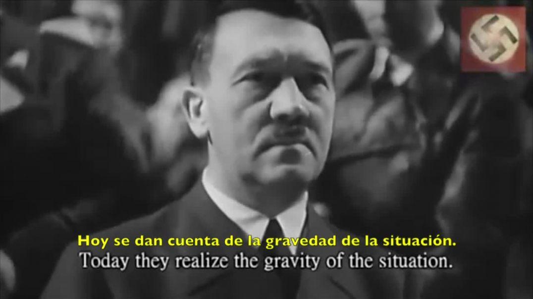 Adolf Hitler denuncia al judaismo
