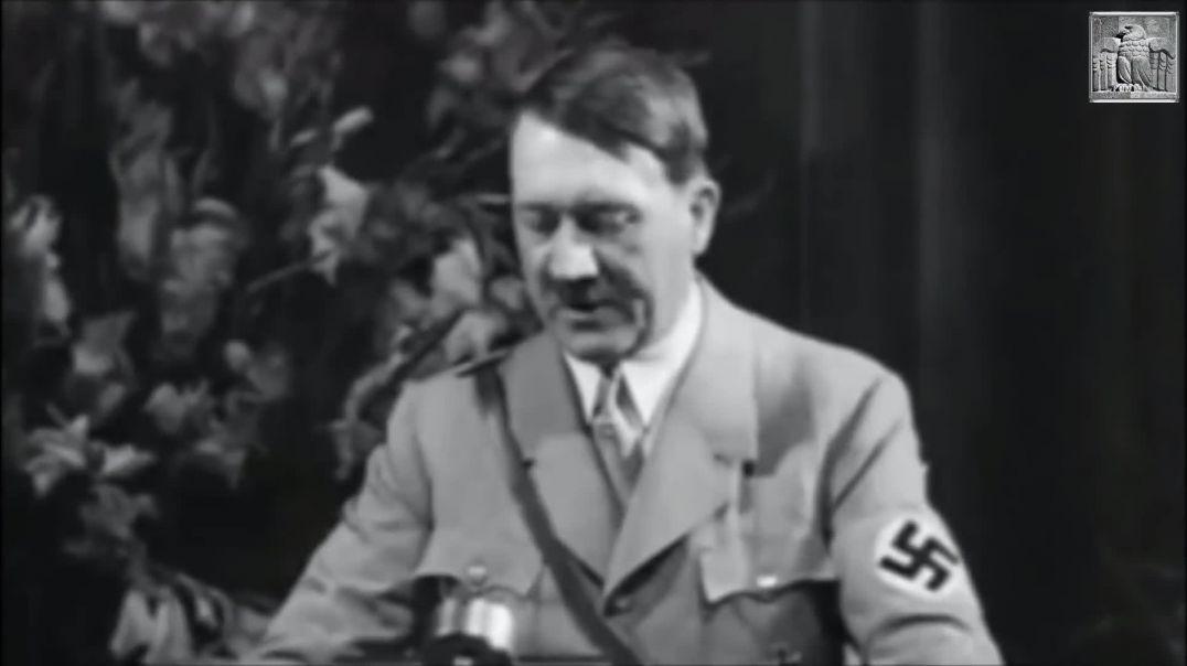 Adolf Hitler - ¡Larga vida al movimiento Nacional Socialista!