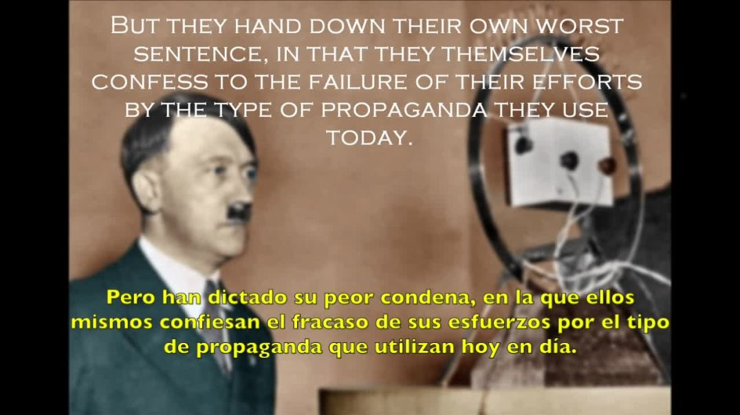 Adolf Hitler apela a la nación