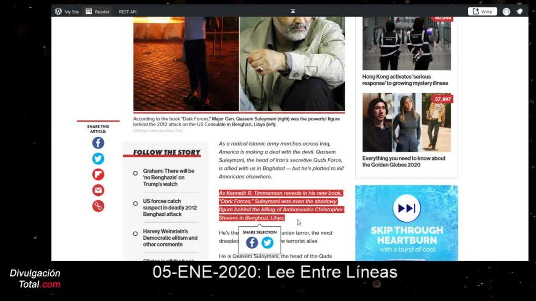 Lee Entre Lineas 05-01-2020