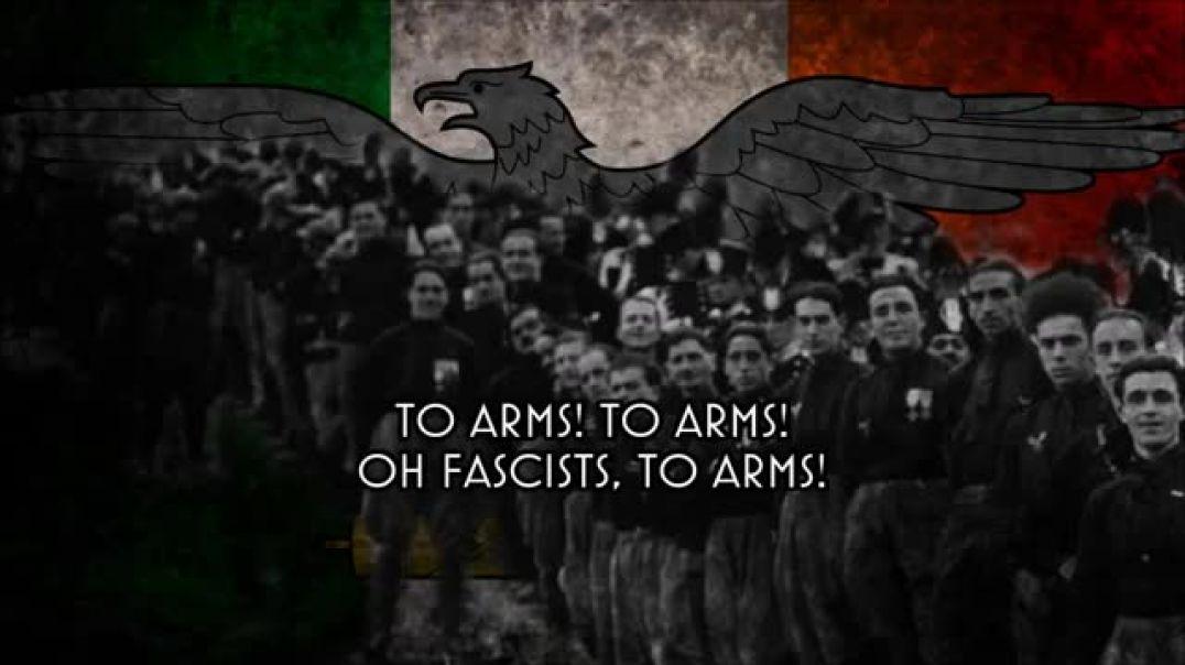 All'armi - Himno de los Fasci di Combattimento