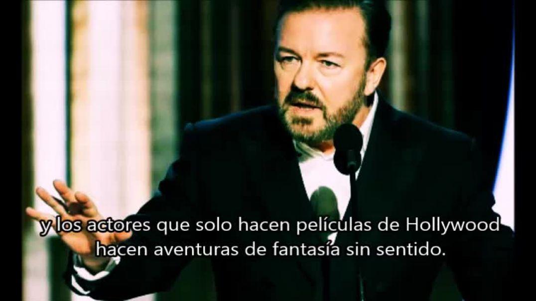 Ricky Gervais Globos de Oro 2020 Entre col y col