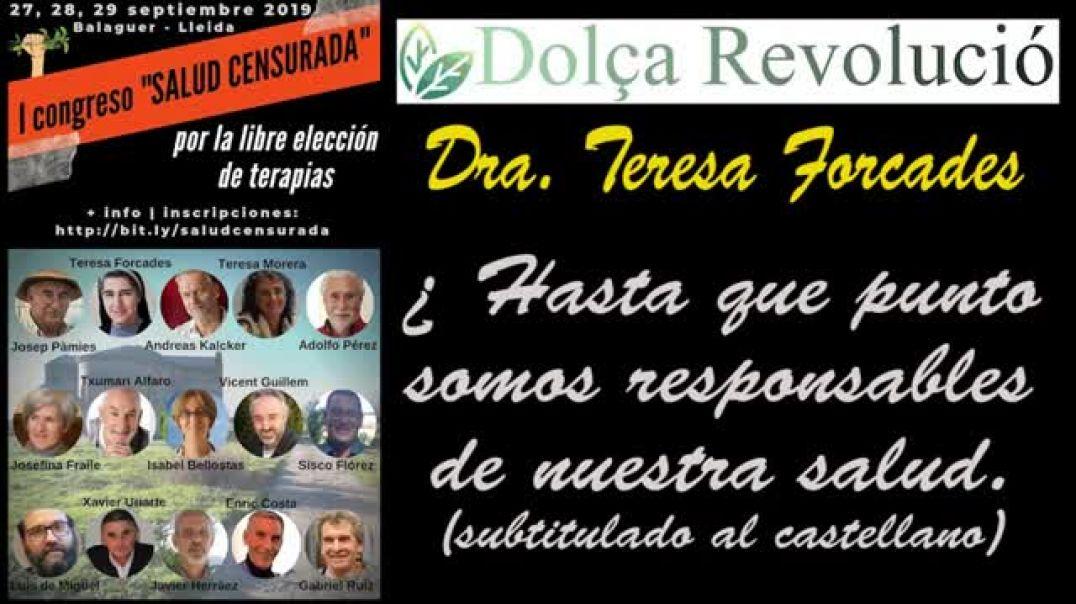 """""""I CONGRESO DE LA SALUD CENSURADA"""",  DRA. TERESA FORCADES"""