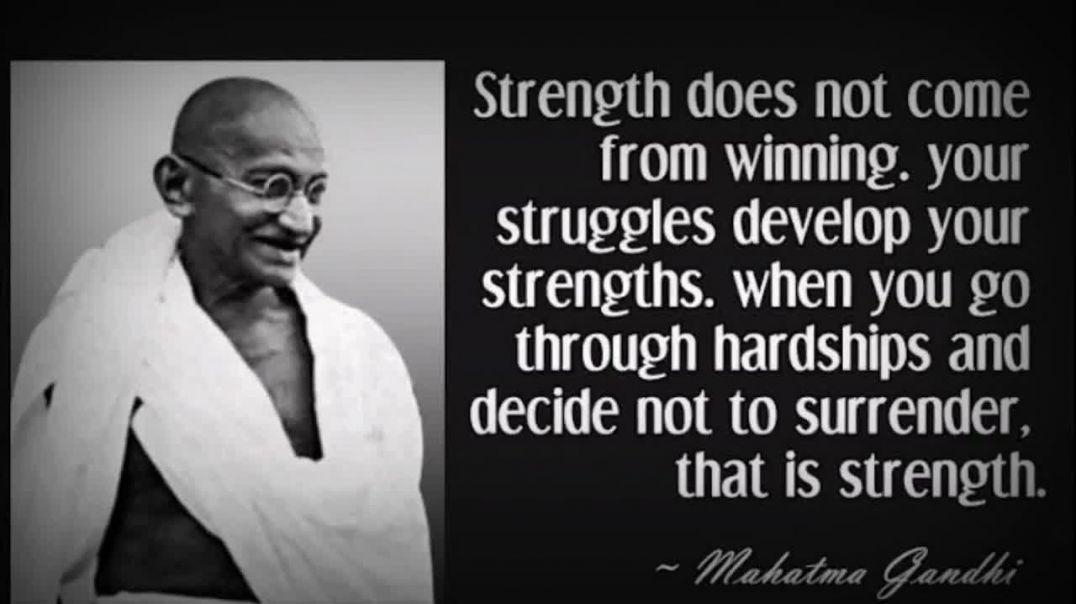 ¿Que pensaba Mahatma Gandhi sobre Hitler?