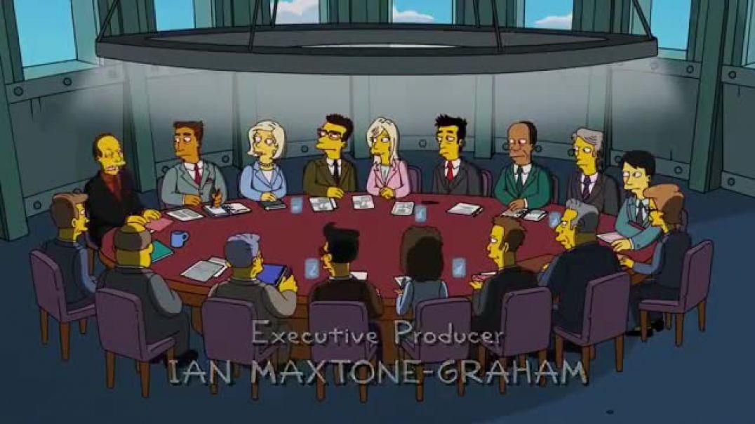 Los Simpsons anunciaron el virus mortal.