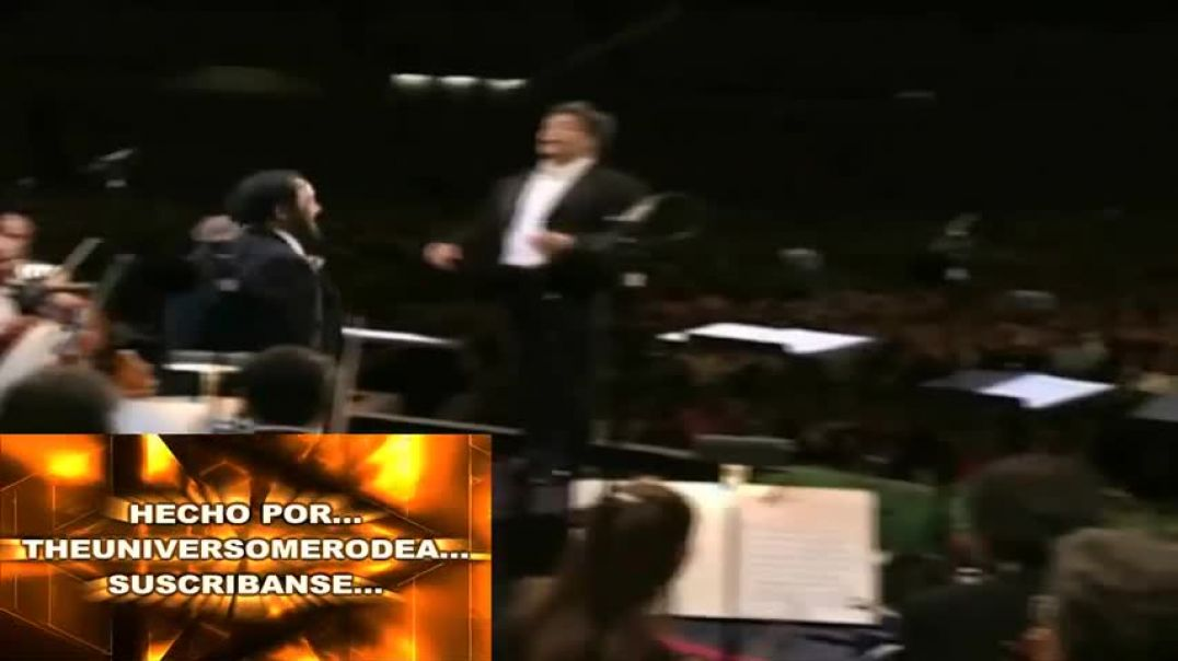 Pavarotti- Nessun Dorma (Subtitulada Español) HD (Los Ángeles 1994)