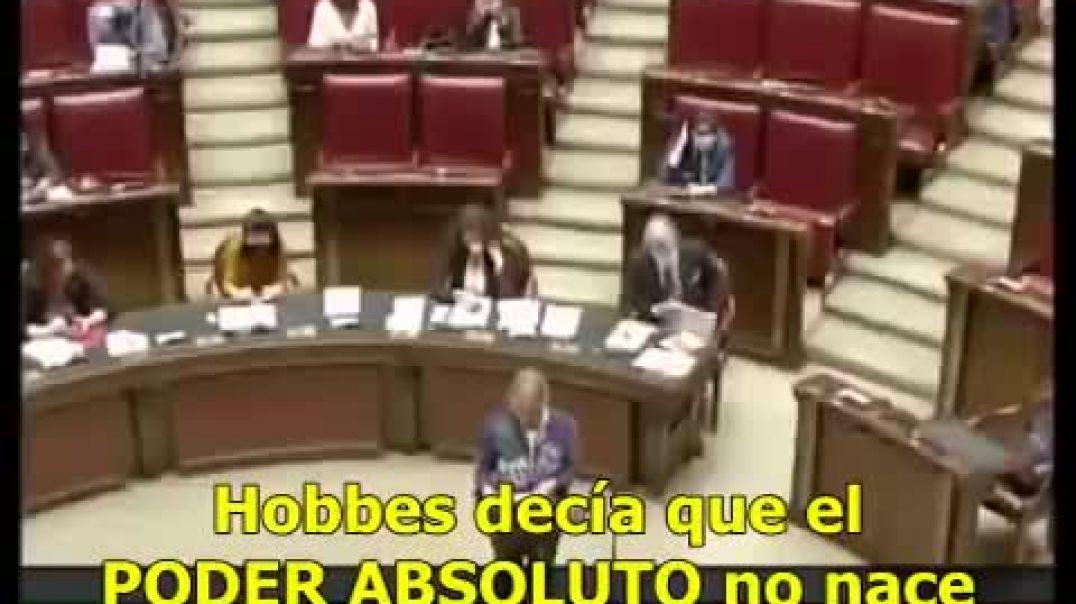 Intervención Sara Cunial parlamento italiano contra el Gobierno Oculto