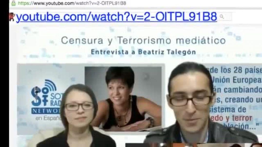 """El Complot de PODEMOS - """"George Soros"""" Beatriz Talegon 15M y primaveras árabes"""