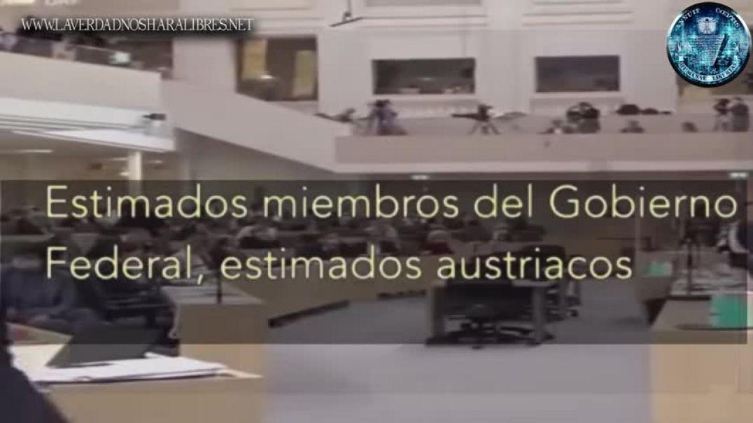 EX MINISTRO DE AUSTRIA SE ENFRENTA AL NUEVO ORDEN MUNDIAL - TRADUCCIÓN COMPLETA