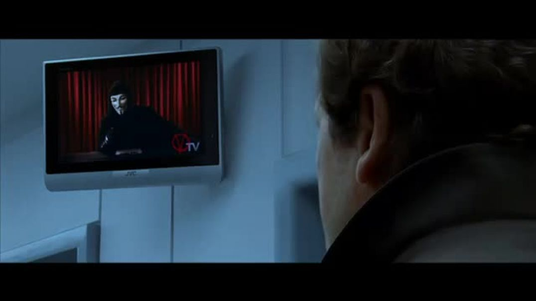 V de Vendetta - Discurso de TV