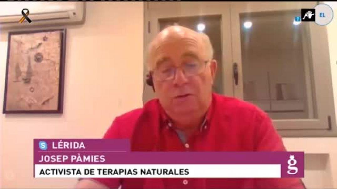 Josep Pamies y las plantas que curan