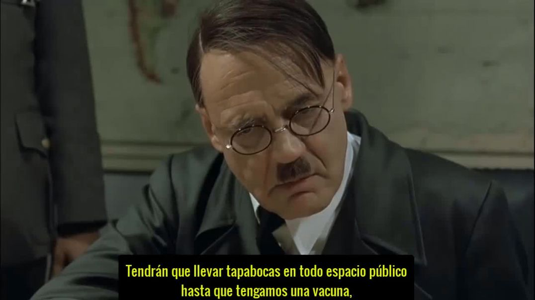 Hitler persigue a los anti-vacunas