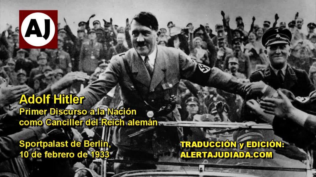 Primer discurso de Adolf Hitler.