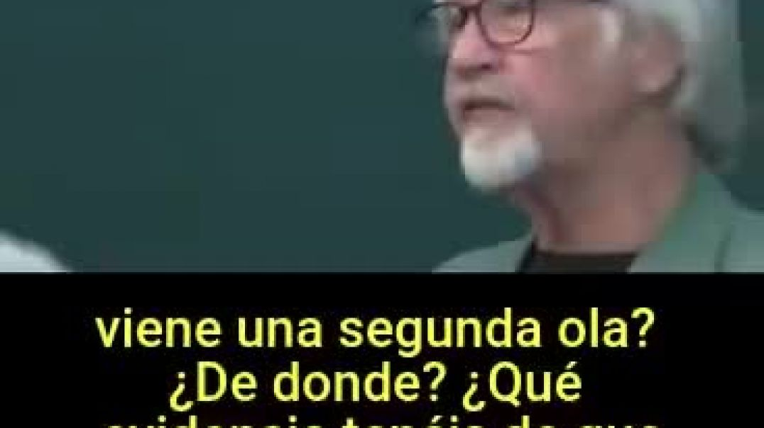 CENSURADO DOCTOR WOLFGANG WODARG - LA FARSA DE LA SEGUNDA OLA AL DESCUBIERTO.