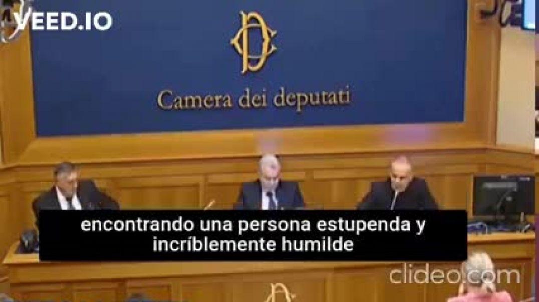 Censurado-INTERVENCIÓN DEL DOCTOR ITALIANO Pasquale Mario Bacco - Cámara de diputados de Italia.