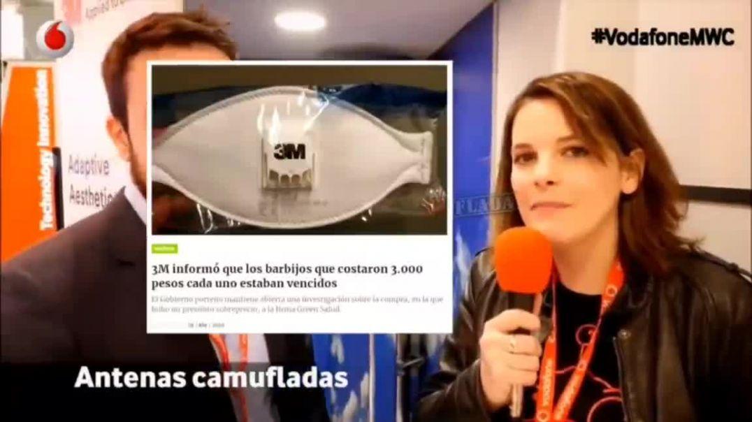 COMPAÑIAS DE TELEFONIA CAMUFLAN LAS ANTENAS