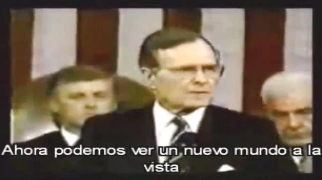 George Bush anunciaba Nuevo Orden Mundial