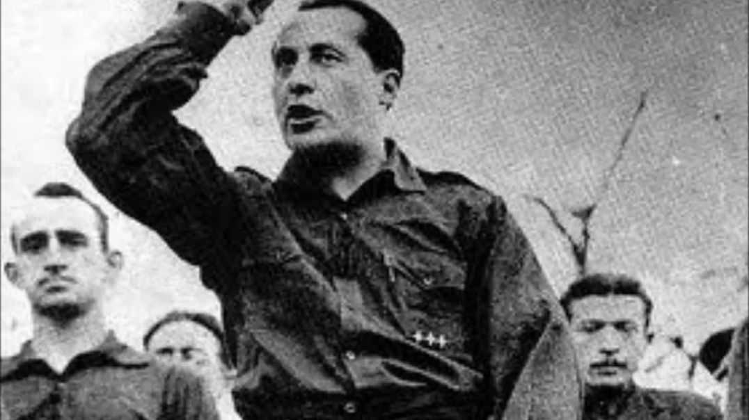 Discurso de Jose Antonio Primo de Rivera. Teatro de la comedia.29-10-1933
