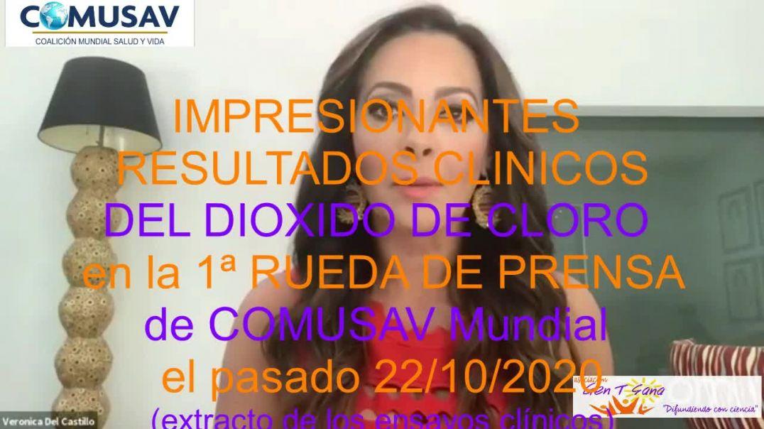 DIOXIDO DE CLORO, IMPRESIONANTES RESULTADOS CLÍNICOS (Extracto de los ENSAYOS CLÍNICOS en Rueda de p