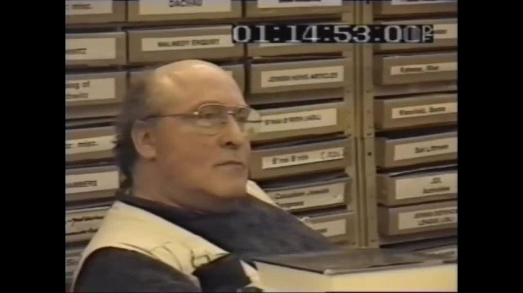 ERNST ZUNDEL  ENTREVISTADO POR PERIODISTA ISRAELI Documental completo en español 1996