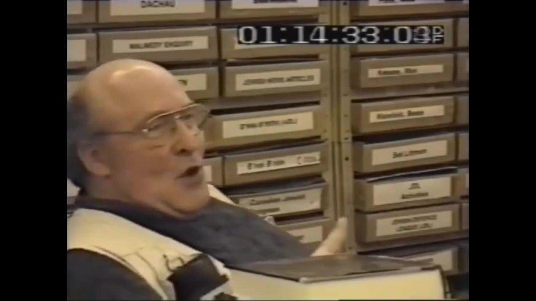 ERNST ZUNDEL ENTREVISTADO POR PERIODISTA ISRAELI Documental completo en español 1996 - 2ª Parte