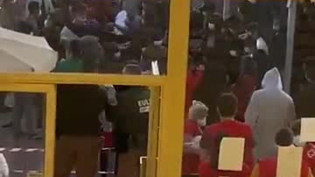 Los inmigrantes de fiesta en Canarias