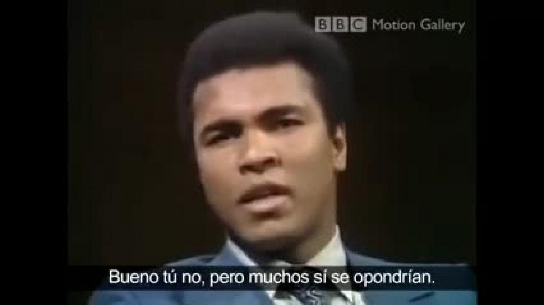 Muhammad Ali le dice sus verdades a JUDÍO promotor del mestizaje GOYIM/ Plan Kalergi