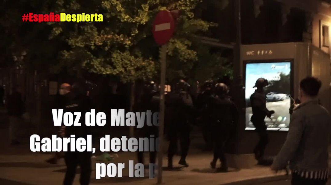 Grabación del 31 de Octubre en Madrid.
