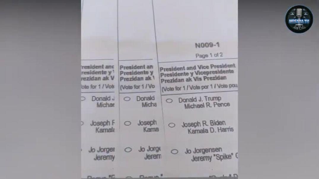Simpatizante demócrata utiliza papeletas de 20 personas fallecidas para votar a Biden