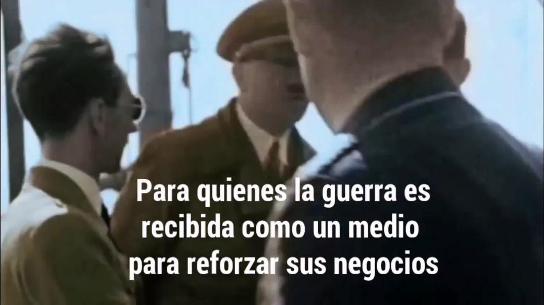 Discurso de  Adolf Hitler contra  Los Sionistas IInternacionales.