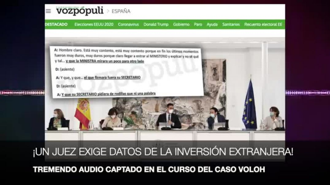 ¡LA GUARDIA CIVIL CAPTA UN AUDIO BRUTAL SOBRE EL GOBIERNO!