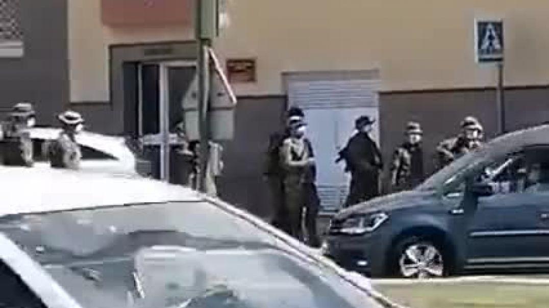 INVASIÓN MILITAR EN TENERIFE.